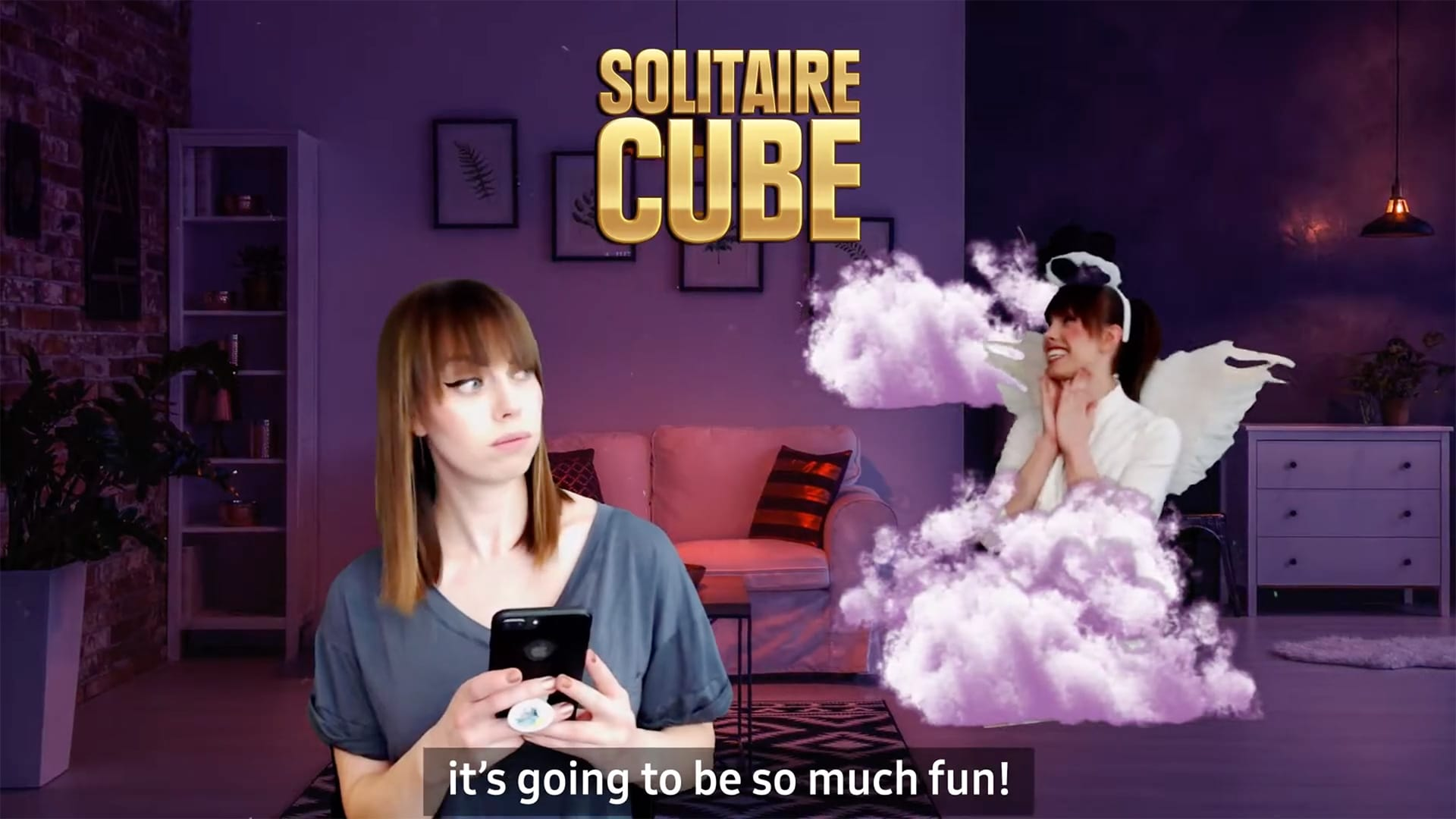 Solitaire Cube influencer produced ad